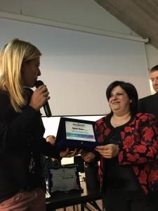 Il premio a Radio Kiss Kiss Italia consegnato alla giornalista Mariasilvia Malvone