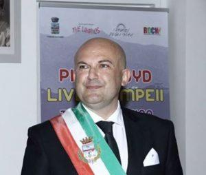 Il sindaco di Pompei, Ferdinando Uliano