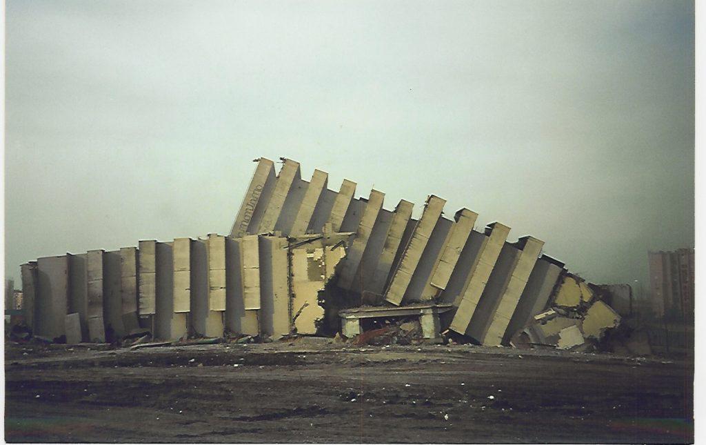 Vele demolite. (Foto fonte Web)