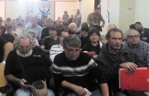 L'assemblea degli operai e dei precari a Pomigliano