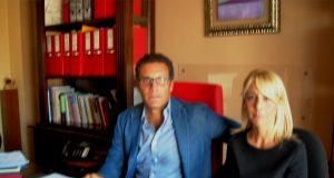 L'avvocato Vincenzo Cirillo e l'economista Lidia Undiemi