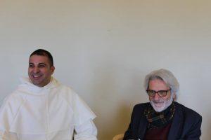 Padre Alessio Romano con Luigi De Simone