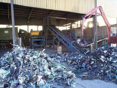 un impianto di trattamento dei rifiuti pericolosi