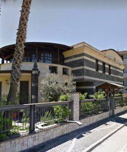 Acerra, la villa sequestrata a Cuono Pellini