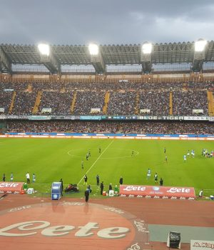 Lo stadio San Paolo fotografato da Diego Simonelli